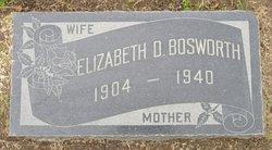 Elizabeth <I>Driggs</I> Bosworth