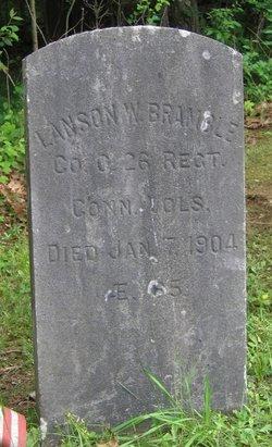 """Pvt Alanson W """"Lanson"""" Bramble"""