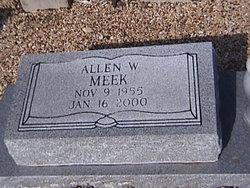 Allen W Meek