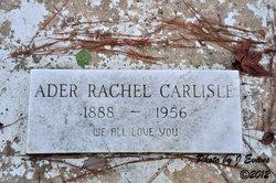 Ader Rachel <I>Long</I> Carlisle