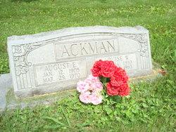 August Edward Ackman