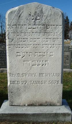 Rabbi Berek Zwawy Newmark