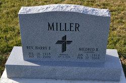 Rev Harry F. Miller