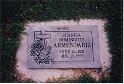 "Juanita ""Janie"" <I>Dominguez</I> Armendariz"