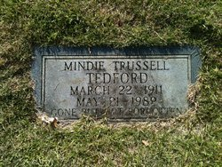 Mindie <I>Trussell</I> Tedford