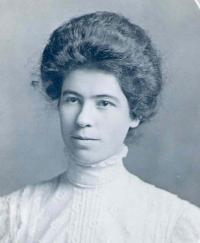 Clara Blanche <I>Burns</I> Simmonds
