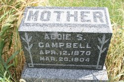 "Ada Smith ""Addie"" <I>Bickett</I> Campbell"