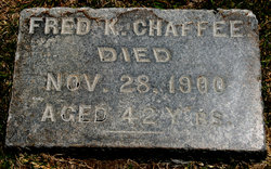 "Frederick K ""Fred"" Chaffee"