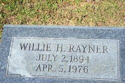 Willie <I>Holloway</I> Rayner