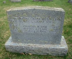 """Martha Kate """"Mattie"""" <I>Ham</I> Miller"""