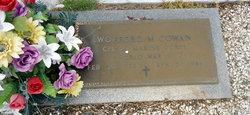 Wofford M Cowan