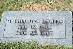 M. Christine Deupree
