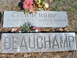"""Sarah Ann """"Salley"""" <I>Mouser</I> Beauchamp"""