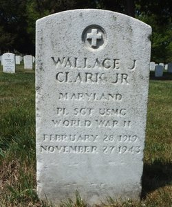 SGT Wallace Jones Clark, Jr