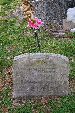 Unwanted Baby Girl X