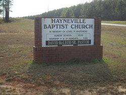 Hayneville Baptist Church Cemetery #2