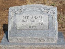 """Kelsey Odis """"Dee"""" Sharp"""