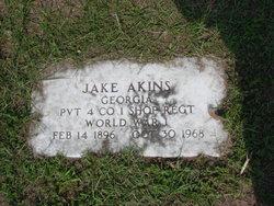 """Carlton """"Jake"""" Akins"""