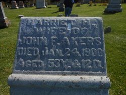 Harriet <I>Burnett</I> Akers