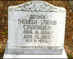 Theresa <I>Straub</I> Cavanaugh