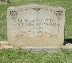 Mary E <I>McCall</I> Hunter