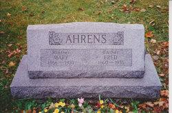 Mary <I>Siebrassie</I> Ahrens
