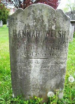 Hannah <I>Jones</I> Welsh