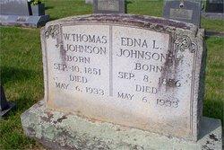 Edna <I>Johnson</I> Johnson