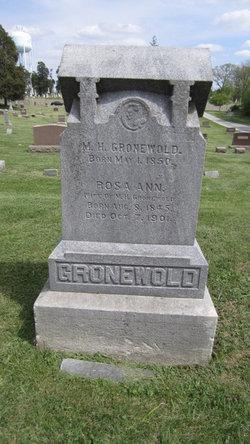 Rosa Ann <I>McCann</I> Gronewold