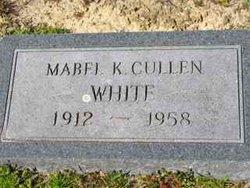 Mabel K. <I>Cullen</I> White
