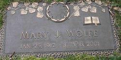 Mary Julia <I>Walker</I> Wolfe