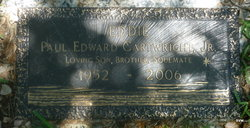 "Paul Edward ""Eddie"" Cartwright, Jr"