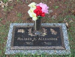 Mildred R Alexander