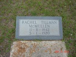 Rachel <I>Tillman</I> McMullen
