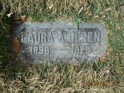 Laura Anna <I>Curtis</I> Olsen