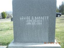 Louise Matilda <I>Dahl</I> Barrett