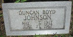 Duncan Boyd Johnson