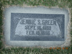 Jennie Sophia <I>Goranson</I> Green