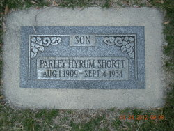 Parley Hyrum Shortt