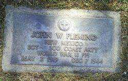 SGT John W. Fleming