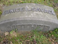Eunice L <I>Barnum</I> Savage