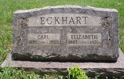 "Anna Elizabeth ""Lizzie"" <I>Stephens</I> Eckhart"