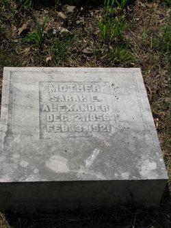 Sarah E. <I>Murphy</I> Alexander