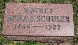 Anna Elizabeth <I>Fisch</I> Schuler