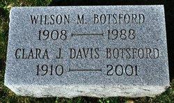 Clara J. <I>Davis</I> Botsford