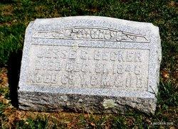 Jesse C Becker