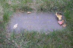Allan Russell Burrill