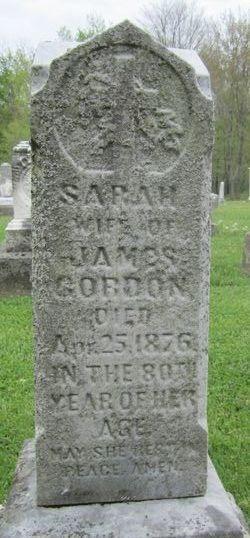Sarah <I>Rinehart</I> Gordon