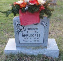 Wanda <I>Franks</I> Applegate
