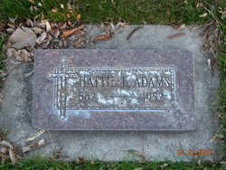 Hattie L Adams